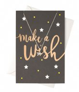 Orelia Make A Wish Giftcard silver plated (22382)