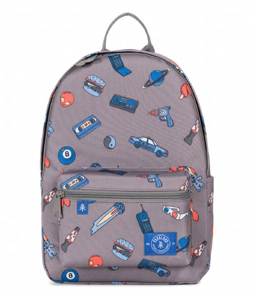 4638ab11073 Edison Backpack patches retro (00254) Parkland | The Little Green Bag