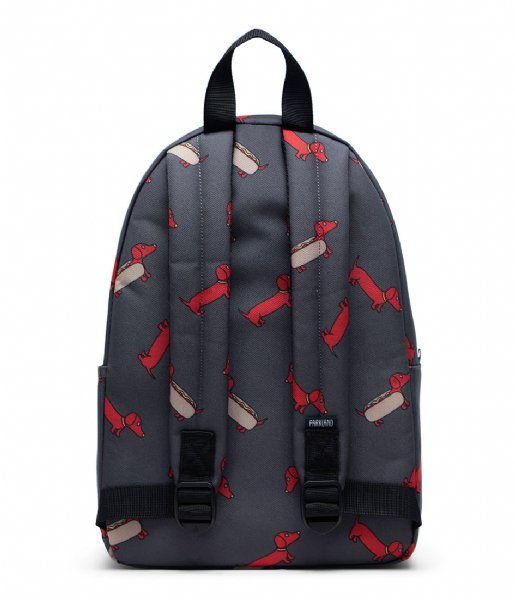 Parkland Dagrugzak Edison Backpack red hot dog(00368)
