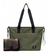 Parkland Fairview Diaper Bag  army (00229)