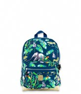 Pick & Pack Happy Jungle Backpack M Navy