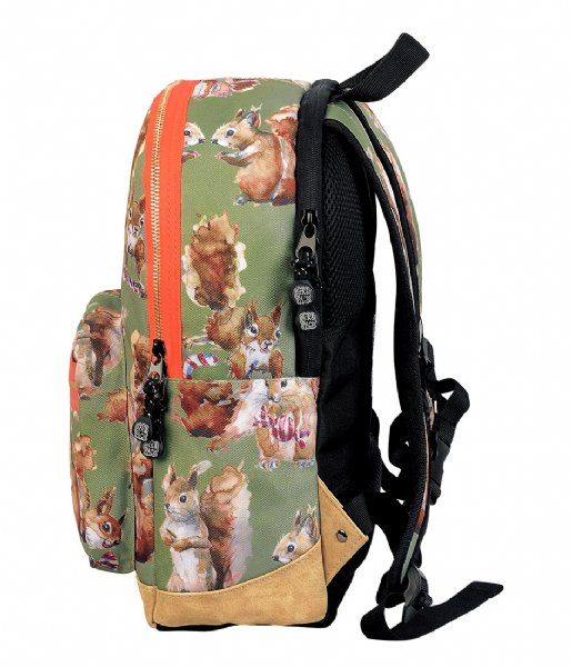 Pick & Pack Dagrugzak Squirell Backpack dusty green (40)