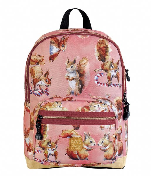 Pick & Pack Dagrugzak Squirell Backpack dusty pink (61)