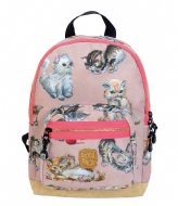 Pick & Pack Kittens Backpack dusty pink (61)
