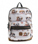 Pick & Pack Rugzakken Dogs Backpack Wit