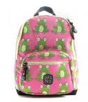 Pick & Pack-Rugzakken-Backpack Frogs-Roze