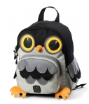 Pick & Pack Schooltas Backpack Owl Shape Zwart