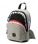 Pick & Pack Rugzak Backpack Shark Shape Grijs