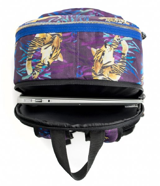 Pick & Pack Laptop rugzak Wild Cats Backpack 13 Inch navy multi