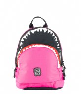 Pick & Pack Backpack Shark Shape fuchsia (49)