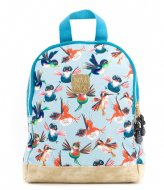Pick & Pack Birds Backpack XS Dusty blue (71)