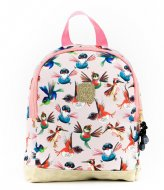 Pick & Pack Birds Backpack XS Soft pink (10)
