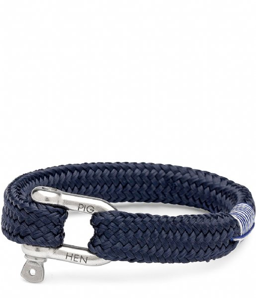 Pig and Hen Armband Gorgeous George 20 cm navy (063000)