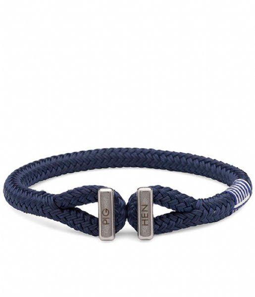 Pig and Hen Armband Icy Ike Bracelet 18 cm navy