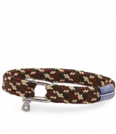 Pig and Hen Sharp Simon Bracelet 20 cm ochre sand brown camo