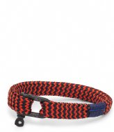 Pig and Hen Sharp Simon Coral Red Navy Black (242632)
