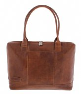 Plevier Ladies Laptop Bag 475 15.6 Inch cognac