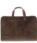 Plevier Laptop schoudertas Laptopbag 704 15.6 Inch Taupe