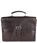 Plevier-Laptoptassen-Laptop Messenger 725 15.6 Inch-Bruin
