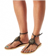 Pretty Hot And Tempting Flipflops Snake Peace black snake (18204)