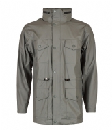 Rains Four Pocket Jacket grey (13)