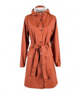 Rains Curve Jacket rust (51)