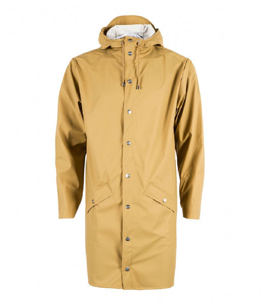 Rains Regenjas Long Jacket khaki (49)