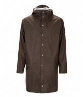 Rains Long Jacket brown (26)