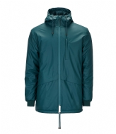 Rains N3 Parka dark teal (40)