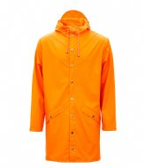 Rains Long Jacket fire orange (83)