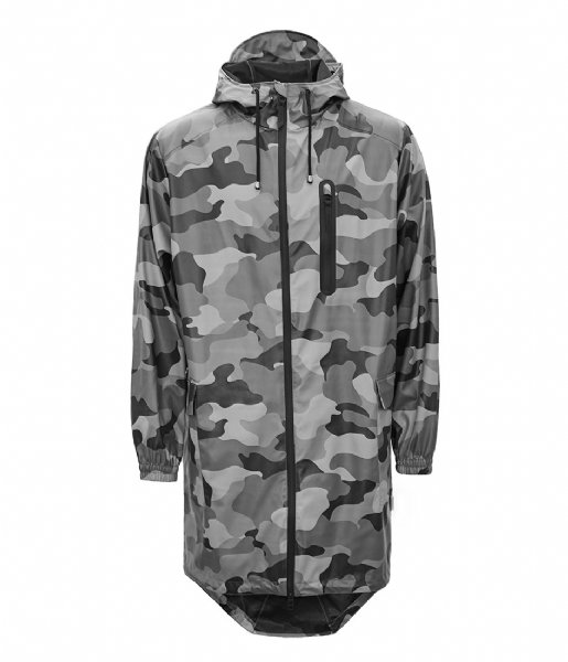 Rains Regenjas AOP Parka night camo (82)