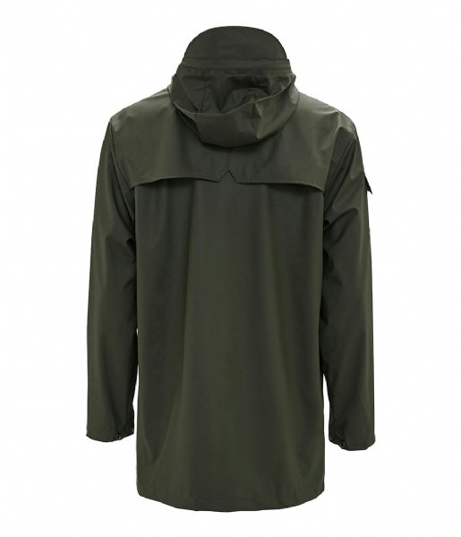 Rains Regenjas Camp Anorak green (03)