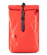 Rains Roll Top Rucksack red (08)
