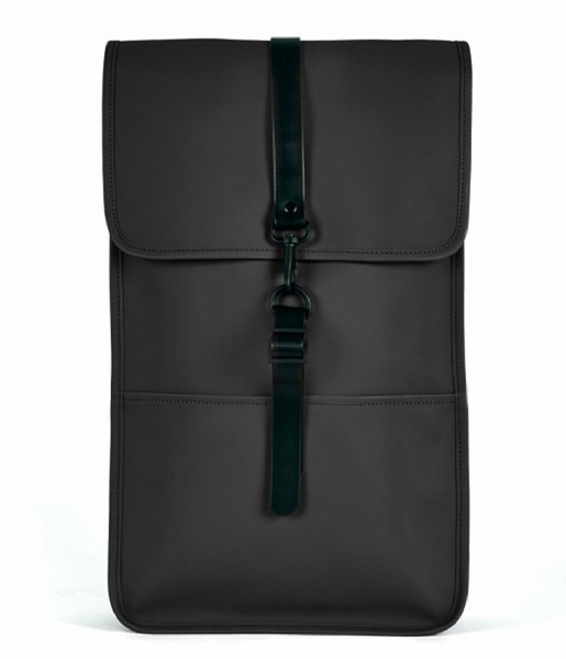Rains Laptop rugzak Backpack 15 Inch black (01)