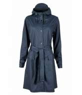 Rains Curve Jacket blue (02)