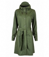 Rains Curve Jacket green (03)