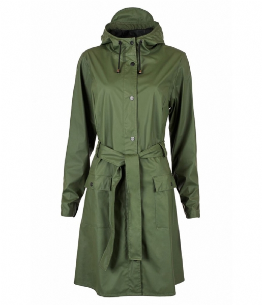 Rains Regenjas Curve Jacket green (03)