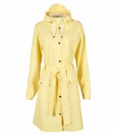 Rains Curve Jacket wax yellow (17)