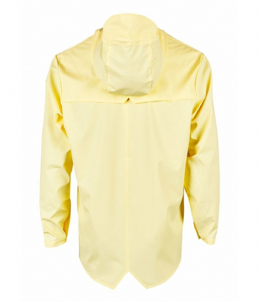 Rains Regenjas Jacket wax yellow (17)