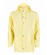 Rains Jacket wax yellow (17)