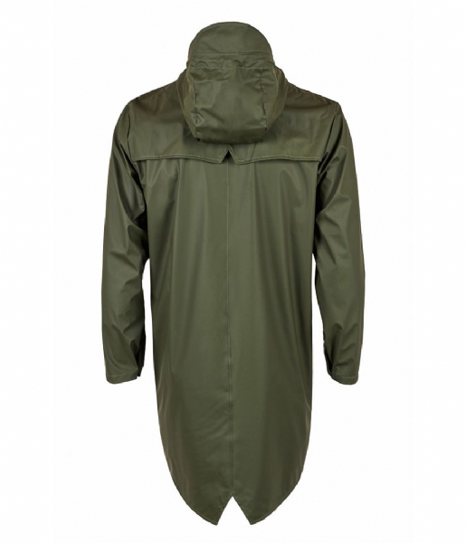 Rains Regenjas Long Jacket green (03)