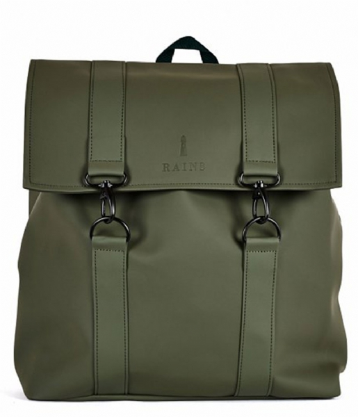 Rains Laptop rugzak Msn Bag 15 Inch green (03)
