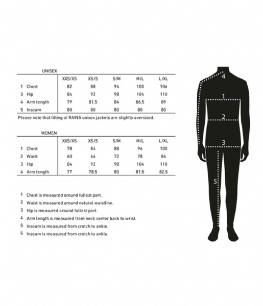 Rains Regenjas Curve Jacket black (01)