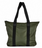 Rains Tote Bag Rush green (03)