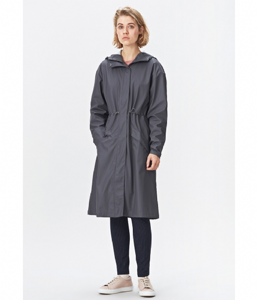 Rains Regenjas Noon Coat smoke (48)