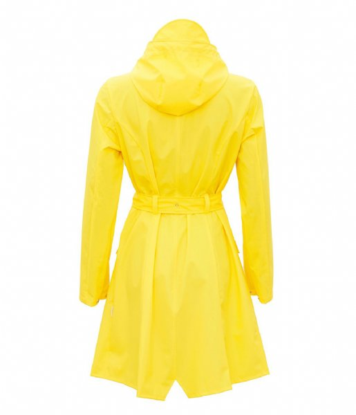 Rains Regenjas Curve Jacket yellow (04)