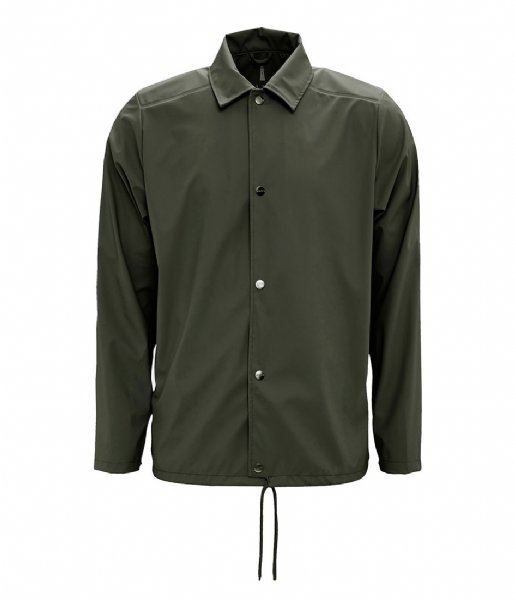 Rains Regenjas Coach Jacket green (03)