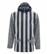 Rains LTD Jacket distorted stripes (69)