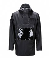 Rains Glossy Camp Anorak black