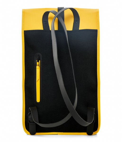Rains Laptop rugzak Backpack 15 Inch yellow (04)